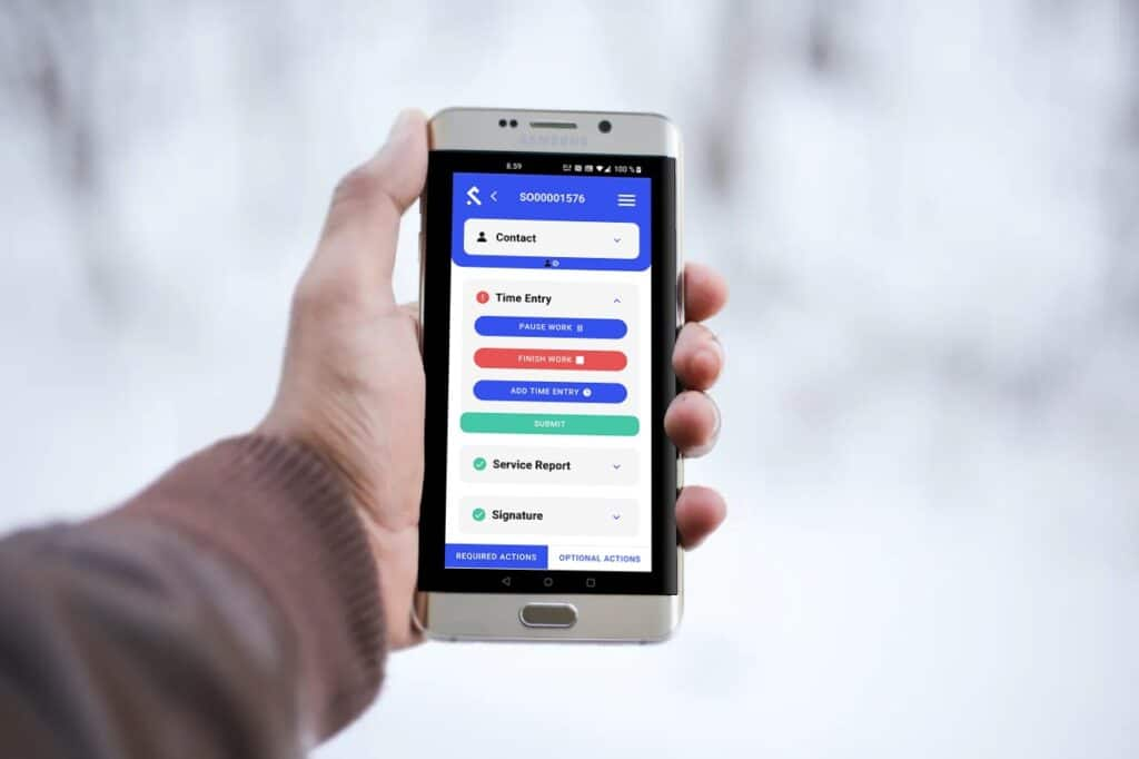 Real-time tracking with the Shepherd CMMS mobile app.